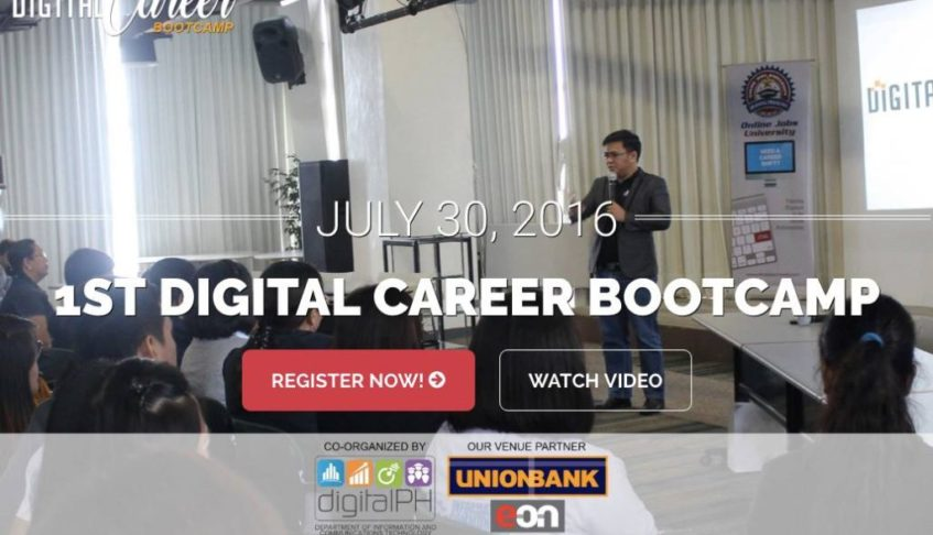 1st Digital Career Bootcamp to promote online jobs