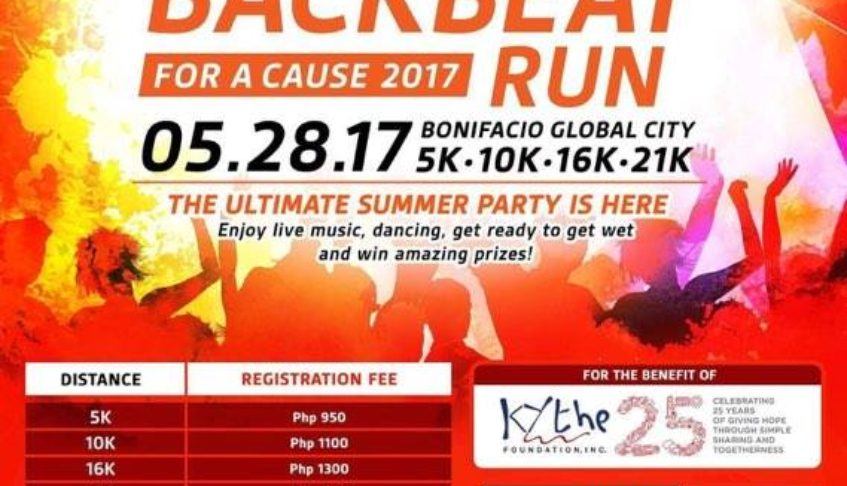 PLANTRONICS BACKBEAT RUN FOR A CAUSE 2017