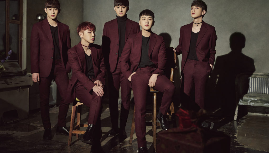 Korean Pop Group AxisB LIVE on February 2017