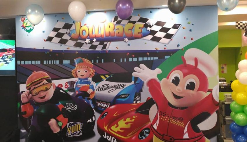 Jollibee's new party theme brings fun up to speed