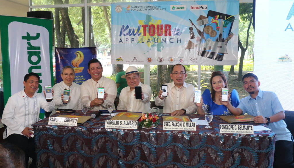 NCCA, DOT launch KulTOURa mobile travel guide