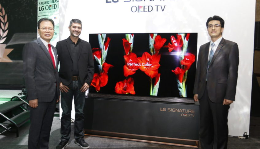 LG CELEBRATES 5 YEARS OF LG OLED TV EXCELLENCE WITH THE LAUNCH OF 77-INCH LG SIGNATURE OLED TV