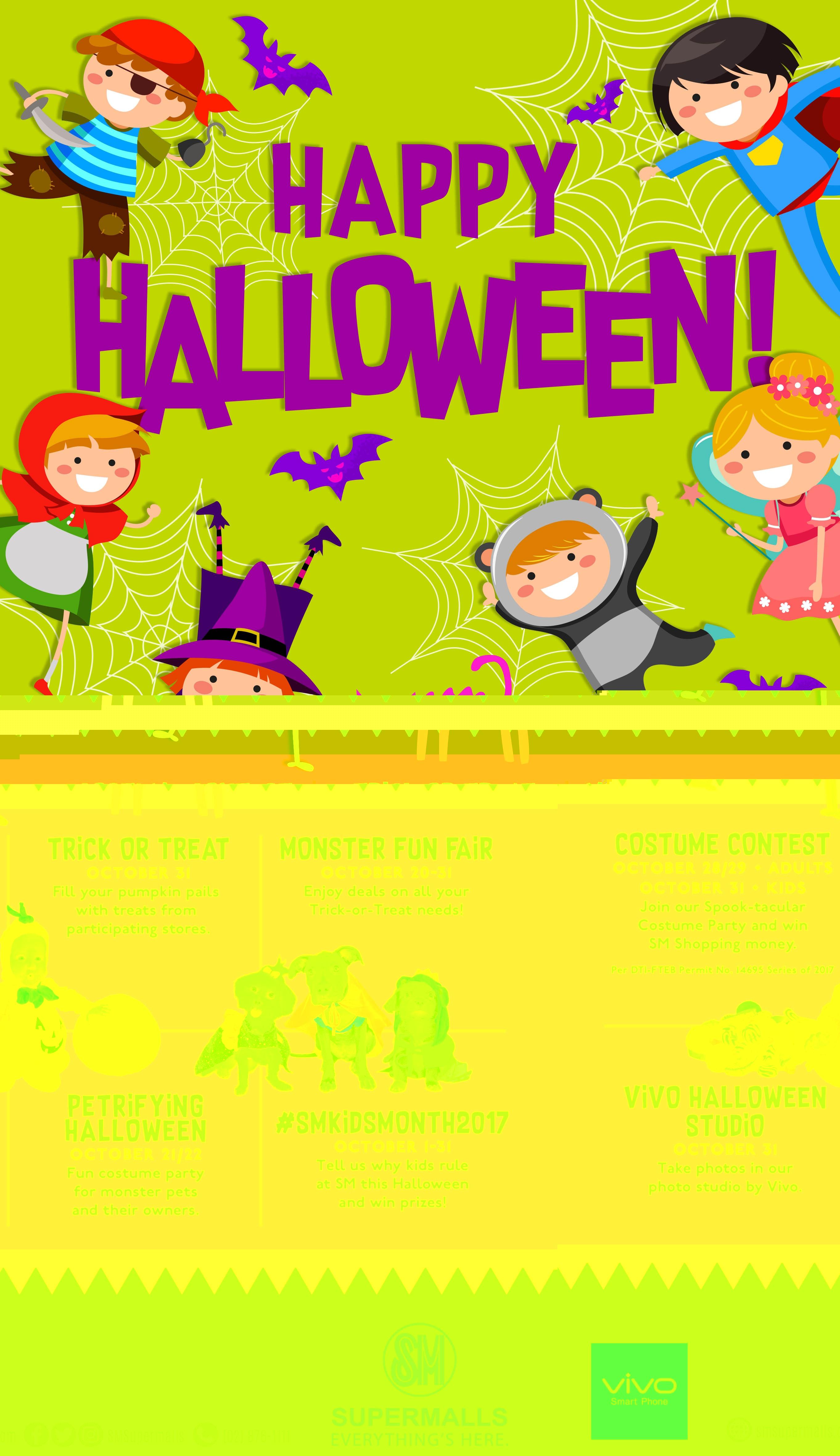 Spooktacular Halloween at SM