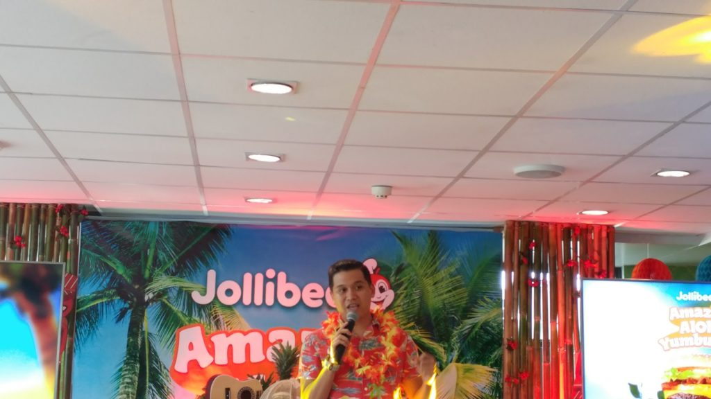jollibee  amazing aloha yumburger 2