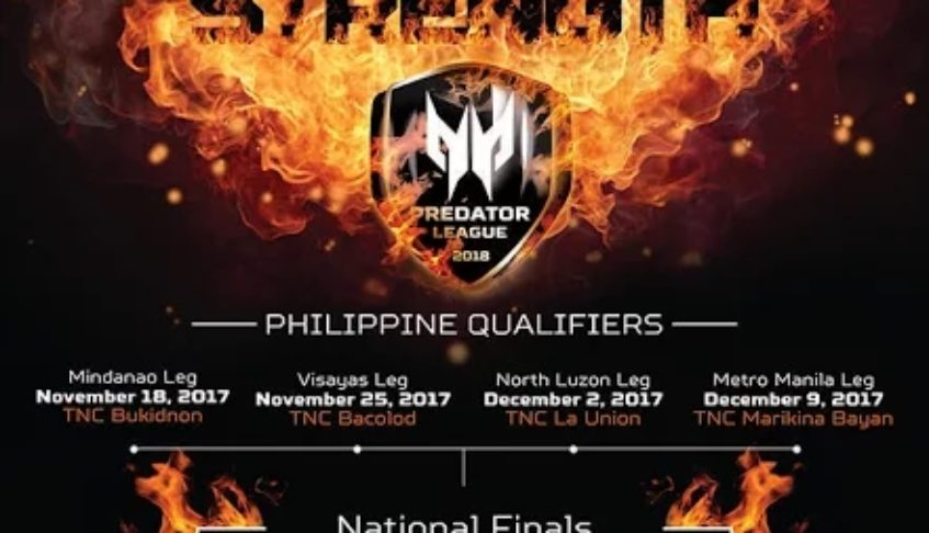 Asia Pacific Predator League 2018 Philippine Leg to begin on November 18