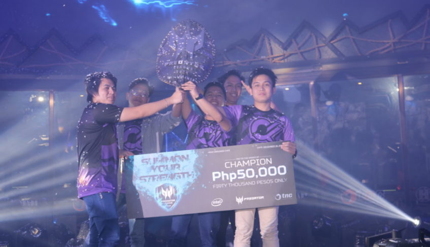Predator Gaming concludes the Philippine Leg of the Asia Pacific Predator League 2018