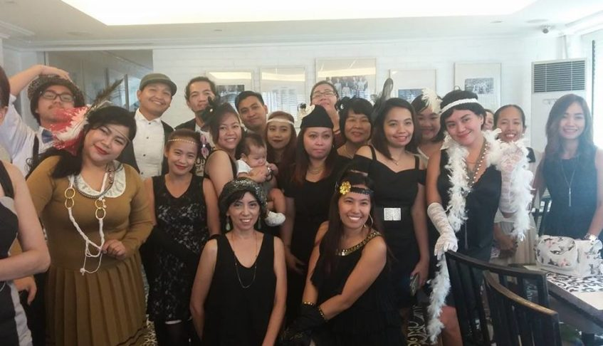 United Bloggers Philippines Celebrates Thanksgiving Party With a Gatsby Theme