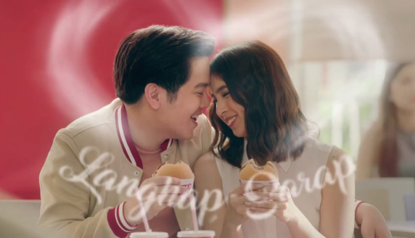 New JoshLia video takes our langhap-sarap  Jollibee Yumburger craving to the next level