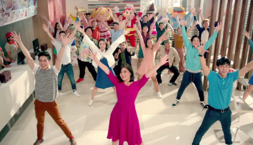 "Jollibee Classic Burger Steak campaign featuring Anne Curtis leaps from ""viral"" to ""award-winning"