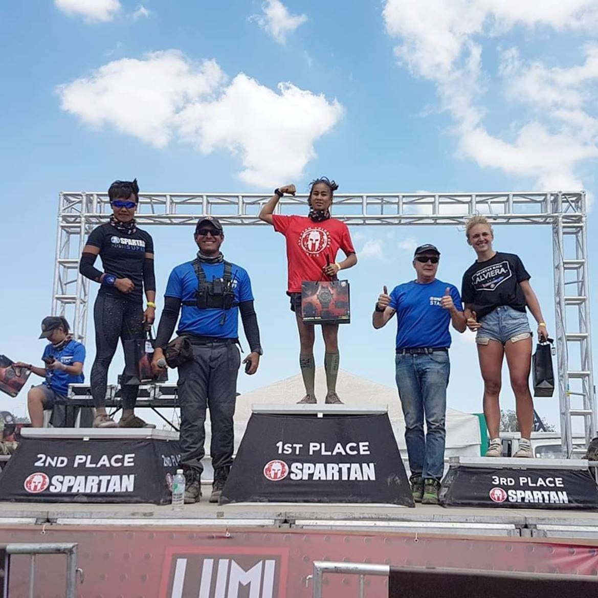 NO CONTENDER TOO YOUNG OR OLD FOR THE SPARTAN RACE