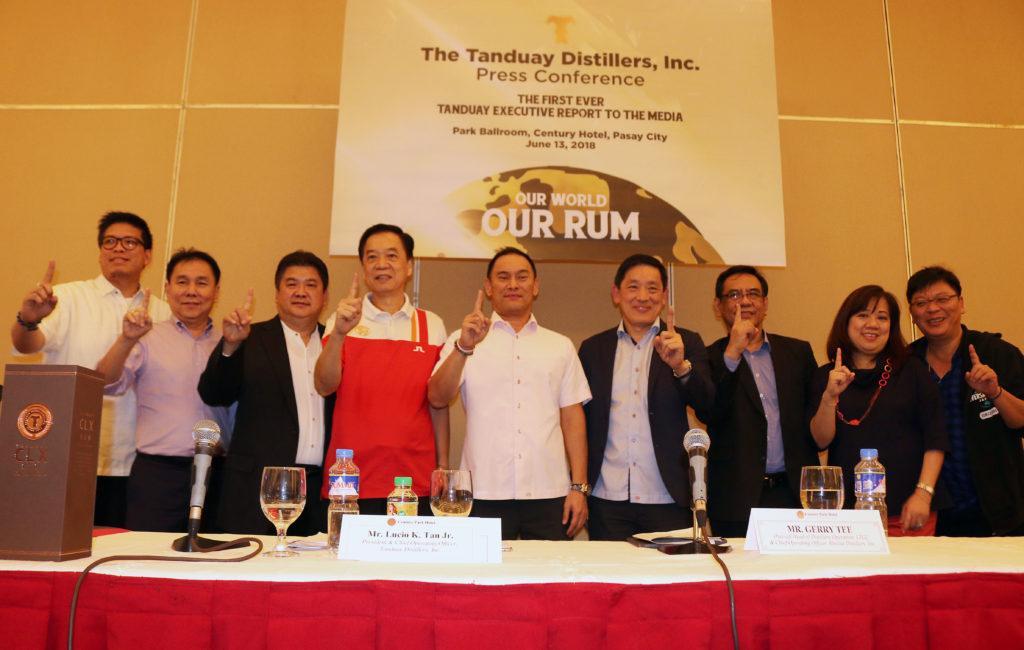 Filipino Pride Tanduay Ranked World's No. 1 Rum