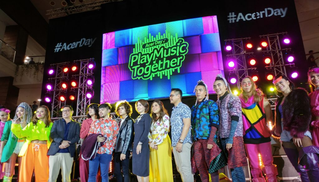 Moira dela Torre, IV of Spades, and the G-Force #PlayMusicTogether for #AcerDay 2018