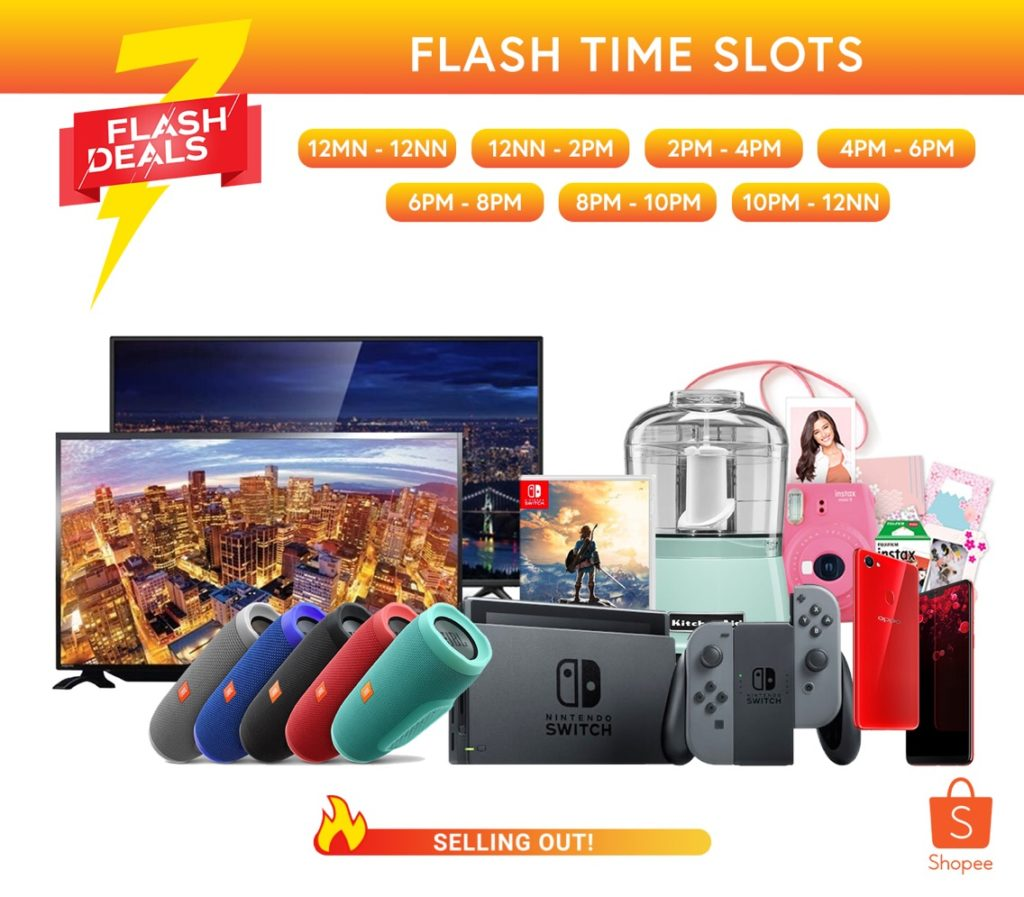 Score the Nintendo Switch, Oppo F7, and HD TVs at Shopee's July Orange Day Campaign