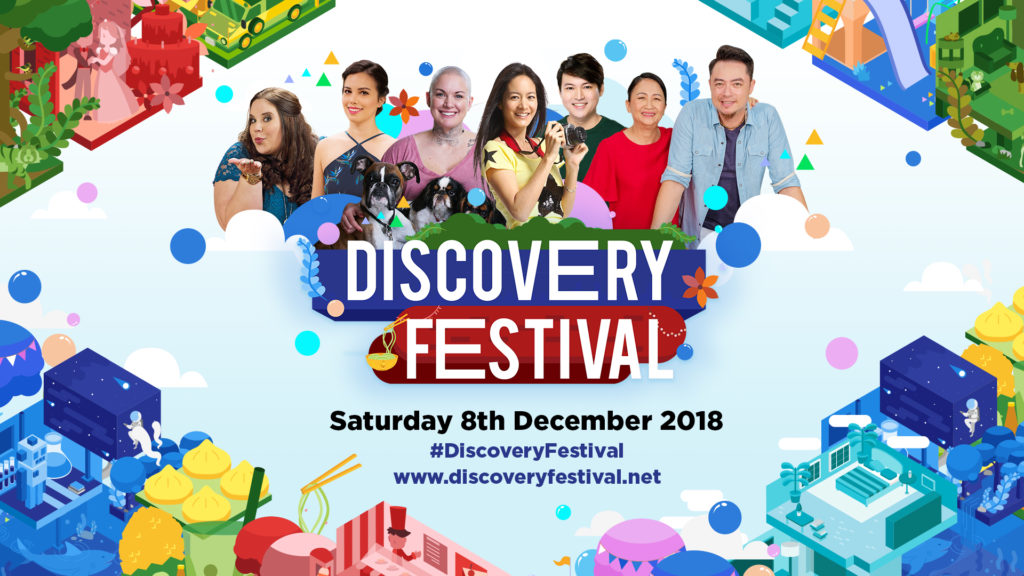 So Much More to Love! TLC Festival returns as Discovery Festival at Bonifacio High Street on 8th December