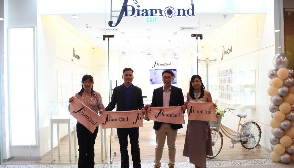 J's Diamond Opens its Flagship store at Ayala Malls Manila Bay
