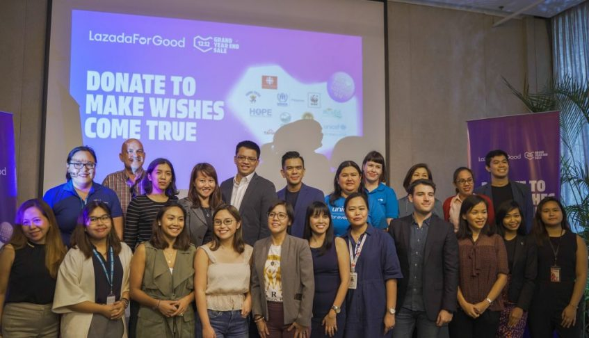 Lazada For Good helps you to donate to make wishes come true