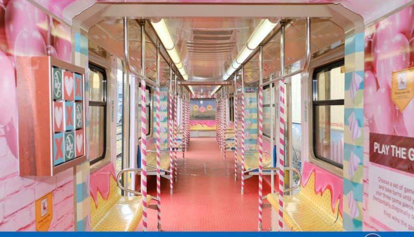LRMC celebrates Valentine's month with LRT-1 Love Train