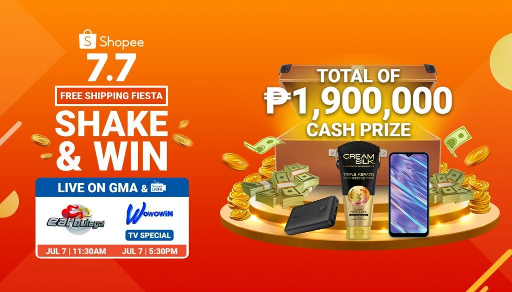 Catch the Shopee 7.7 Flash Deals on Wowowin and Eat Bulaga for  Amazing Promos