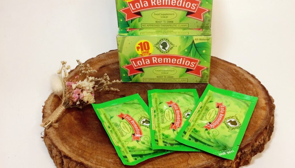 Lola Remedios Food Supplement Syrup: the all-natural just-right Remedio sa Lamig!