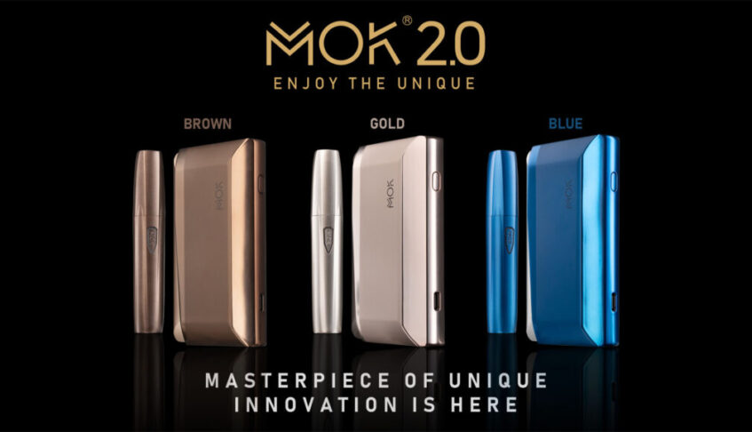 MOK LAUNCHES ITS NEWEST INNOVATIVE HEAT-NOT-BURN FLAGSHIP DEVICE, MOK 2.0