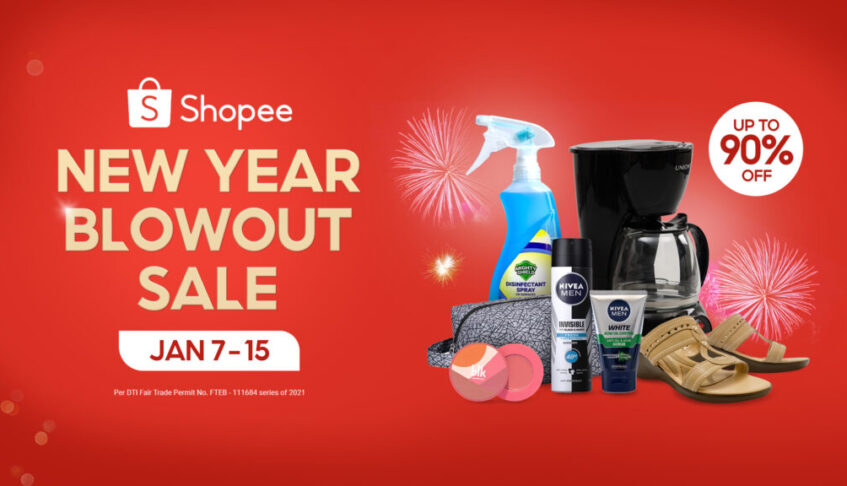 10 Ways to Start the New Year Right with Shopee's New Year Blowout Sale