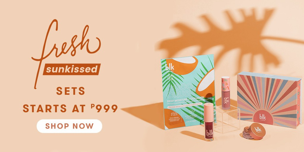 BLK's  summer makeup must-haves at Shopee