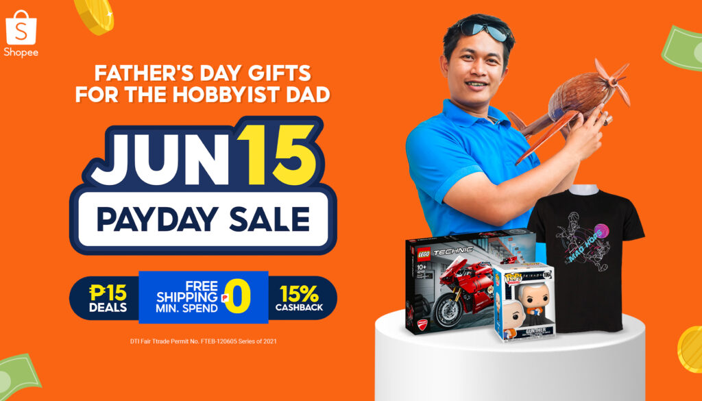 Score these Cool Gifts for Your Hobbyist Dad at Shopee's Payday