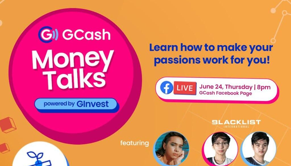 Learn how to invest in your passions and grow yoursavings in GCash 2nd Money Talks series