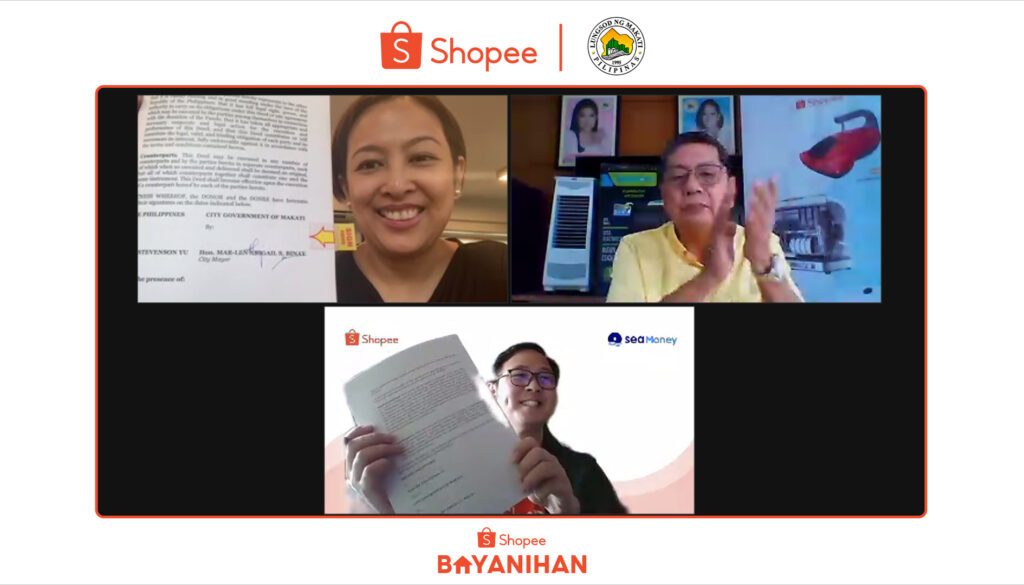 Shopee Rolled Out its Vaccination Center Support Initiative with Makati City to Provide Filipinos a Comfortable Vaccination Experience