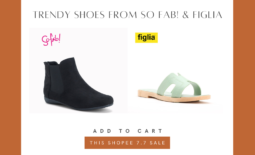 Level up your outfit with trendy shoes from So Fab! and Figlia on Shopee