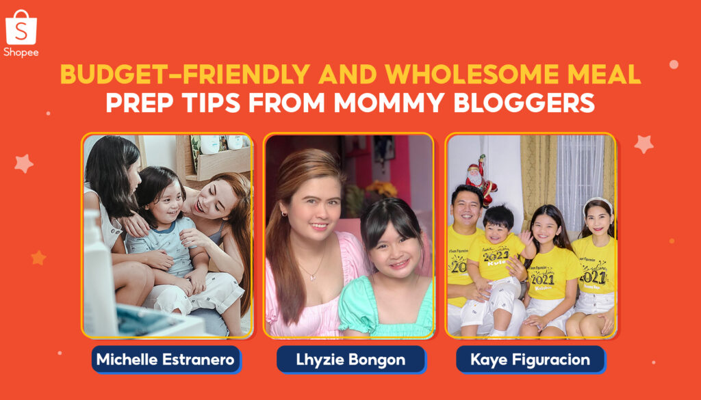 Try these Wholesome Recipes and Budget-Friendly Shopee Recommendations from Local Mommy Bloggers