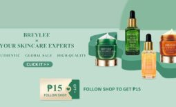 Breylee must-haves up to 65% OFF and Buy 1 Take 1 offers you can score at Shopee's Christmas in Our Cart sale